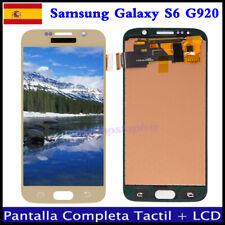 PANTALLA PARA SAMSUNG GALAXY S6 G920F LCD DISPLAY TACTIL DIGITALIZADOR Dorado