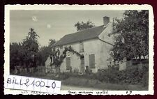 Moutils . Les Mongets ( 77320 Seine-et-Marne ) photo ancienne . Septembre 1946