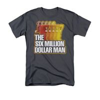 SIX MILLION DOLLAR MAN RUN FAST Licensed Men's Tee Graphic Tee Shirt SM-5XL