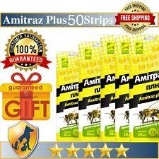 50 Strips Amitraz Plus Strips Beekeeping Prevention of Varroatosis Varroa