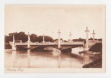 Aceh,Kuala Simpang,Indonesia,Bridge,c.1909