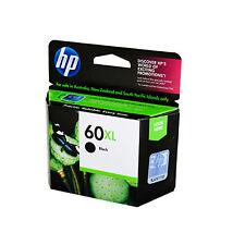 2017 RETAIL BOX Genuine HP 60XL Black Ink for CC641WN Deskjet D2500/D2530/F4200