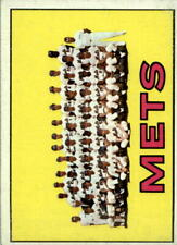 1967 Topps #42 New York Mets TC - Ex