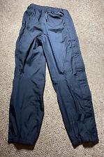 PATAGONIA SUPER PLUMA GORE-TEX STORM SHELL PANTS BLACK FULL ZIP #83453 MENS SZ M