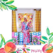 Lilly Pulitzer NWT Carmynn Caftan Dress 🌴 Coral Spritz Shelly Bay $278 Size S