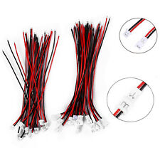 20 Pairs Micro JST 1.25mm 2-Pin Male and Female Connector Plug with Wires 100mm