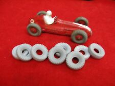 Chunky Treaded Tires for Dinky Toys, grey, 20mm, Foden and Racers, Lot of 8