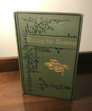 1884 TURNING FOR AMATEURS The Lathe & Tools METAL and WOOD TURNING Woodwork