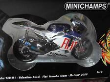 MINICHAMPS VALENTINO ROSSI 1/12 YAMAHA M1 2009 FIAT TEAM FACTORY 122093046