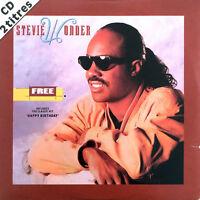 Stevie Wonder CD Single Free / Happy Birthday - France (EX/EX+)