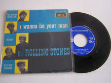 EP 4 TITRES VINYLE 45 T , THE ROLLING STONES , I WANNA BE YOU MAN . VG  / VG -