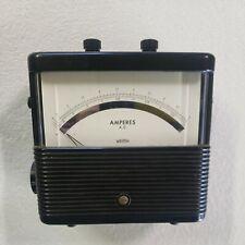 Vintage Weston Daystrom Model 904 Ampheres Ac Meter