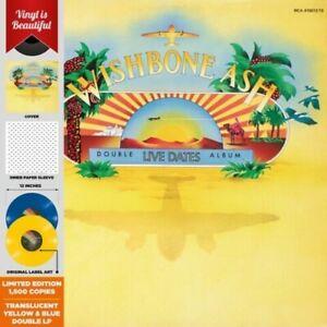 Wishbone Ash - Live Dates [New Vinyl LP] Blue, Gatefold LP Jacket, Ltd Ed, Yello