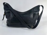 THE SAK Black Leather Kendra Shoulder Bag VGC