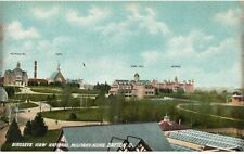 Vintage Postcard Dayton OH Birdseye View National Military Home Hotel Hospital