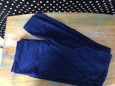 Victoria's Secret Sport Pants Knockout Tight Blue Medium Rise Small V44