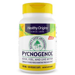 Healthy Origins - Pycnogenol 100mg X 30 Végétarien Capsules