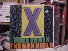 X More Fun In The New World US  Lp Original Issue