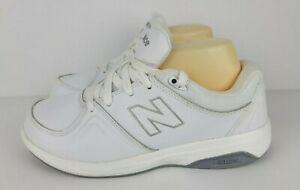 New Balance Womens Size 8 D WW813WT White Rollbar Technology Walking Shoes