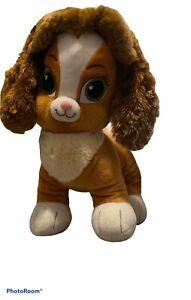 "Build a Bear Disney Palace Pets Teacup 12"" Plush Dog Princess Belle Puppy"