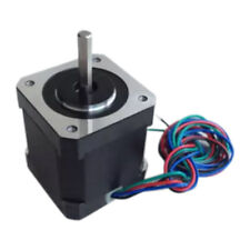 17a Two Phase 4 Wire 17step 42mm High Torque Hybrid Metal Stepper Motor For Cnc