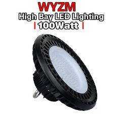 100W High bay Led Shop Light for Warehouse Industrial Factory Commercial Usage