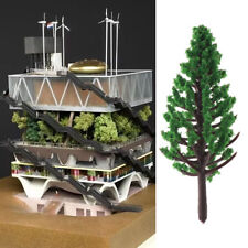 20pcs Model Trees Park Street Railroad House Layout Green Landscape Scenery Lot