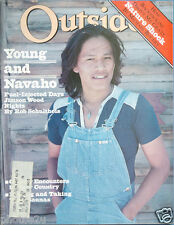 OutsideJune, 1978 Young and Navaho, Bears, Michael Rogers backpacking, Victor
