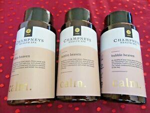 Champneys bubble heaven bundle-calm-3 x 300ml=900ml-I combine postage