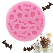 Halloween Trick Bat Silicone Fondant Mold Cake Sugar Chocolate Gum Paste Decor