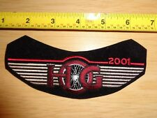 OEM HOG Harley Owners Group 2001 NEW Patch street tour road electra glide king