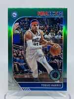 2019-20 Panini Nba Hoops Tobias Harris Green Prizm Card #147 Philadelphia 76ers