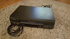 PANASONIC PV-9455S 4-Head Omnivision Hi-Fi Stereo VCR VHS w/ cable cord