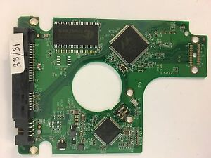 PCB Western Digital WD2500BEVT-75ZCT2 2060-701499-005 Rev A Thailand