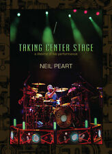 NEIL PEART RUSH TAKING CENTER STAGE DRUM DVD NEW A LIFETIME OF LIVE PERFORMANCE