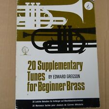 brass 20 SUPPLEMENTARY TUNES FOR BEGINNER BRASS, Edward Gregson