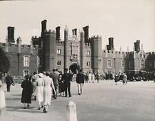 GRAND LONDRES c. 1940 - Autos Hampton Court Palace Angleterre - NV 1308