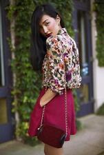 Lover the Label Susien Chong silk shorts skort NEW blush