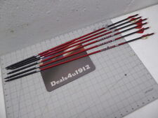 Carbon Express Maxima 250 6pk Arrows w/blazer vanes + inserts + tips 1/2DZ 29in