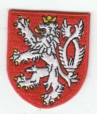 Böhmen  Wappen Patch ,Coat of Arms BohemiaTschechien,Aufnäher,Aufbügler