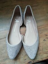 Sparkly Nude Ballet Flats Size 5