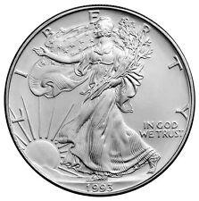 1993 - 1 Troy Oz (.999 fine) Silver American Eagle $1 Coin SKU26336