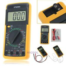 DT-9208A Digital Multimeter Volt Amp Ohm Hz AC/DC Temperature Meter Hertz Tester