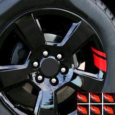 "6x For 16""-21"" Auto Car Wheel Rim Vinyl StickerReflective Decal Mark Overlay"