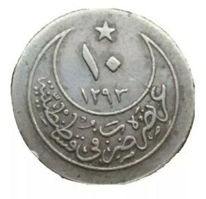 1901 TURKEY 10 PARA COIN AH1293/26 ABDUL HAMID II 1876-1909 KM 744 OTTOMAN EMPIR