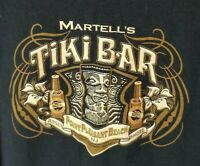 Pt. Pleasant Beach NJ Tiki Bar Hawaiian Tee Jersey Shore Martells Long Sleeve !