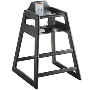 New Restaurant Style Wooden High Chair  + $10 Rebate Only Bonus FREE