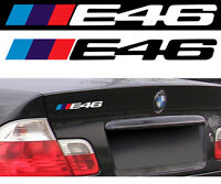 LOGO E46 POUR BMW MOTORSPORT SPORT RACING 18cm AUTOCOLLANT STICKER BA228