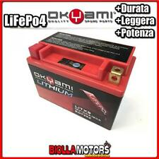 E07352 BATTERIA LITIO OKYAMI YTX9-BS LiFePo4 LITX9 YTX9BS MOTO SCOOTER QUAD CROS