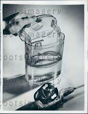 1950 Plastic Fish Box For Bait Press Photo